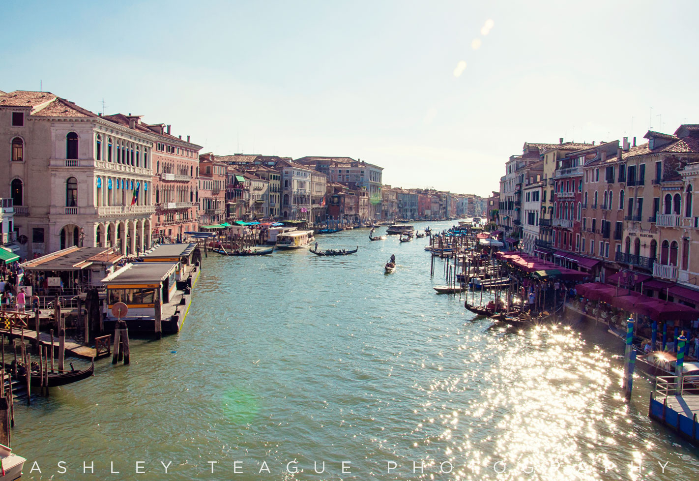 Grand Canal, Venice Photography