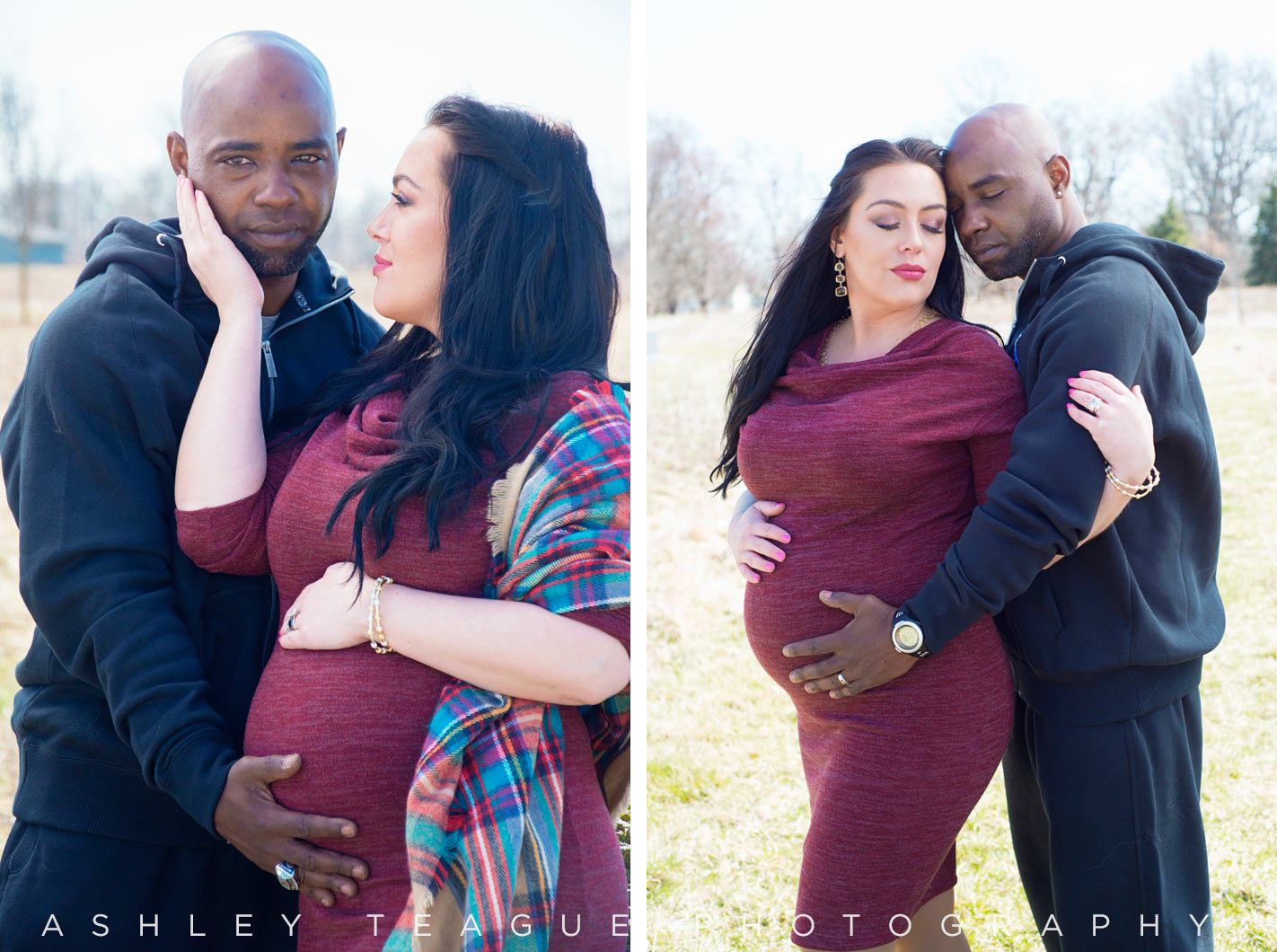 New Bremen Photography Maternity Outdoor Portrait