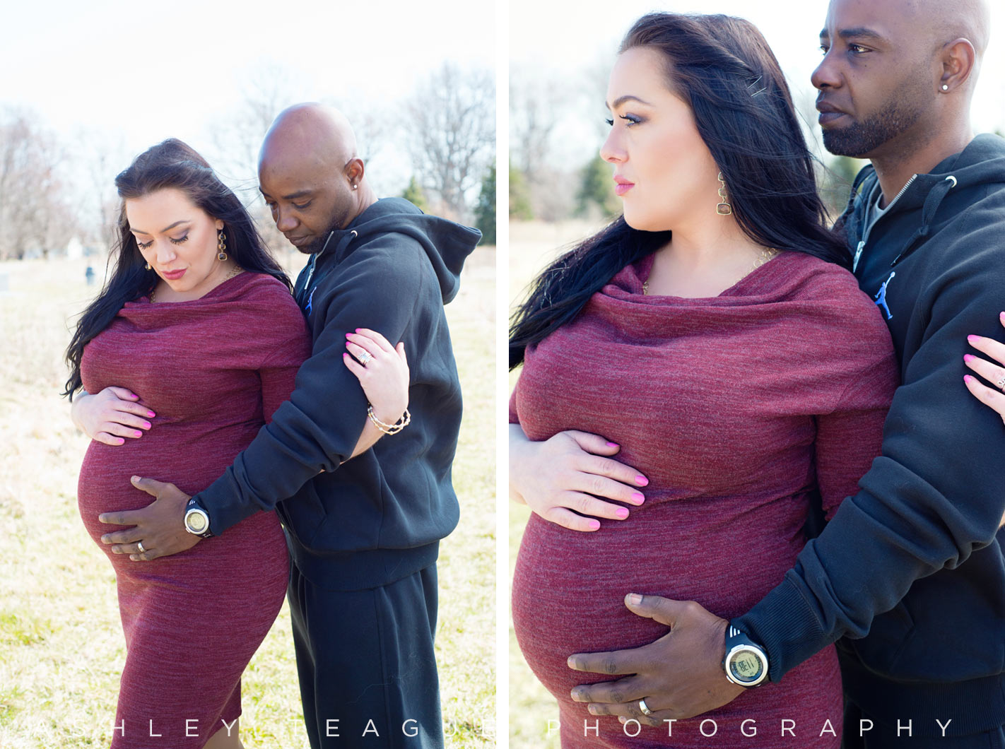 New Bremen Photography Maternity Portrait Baby Bump