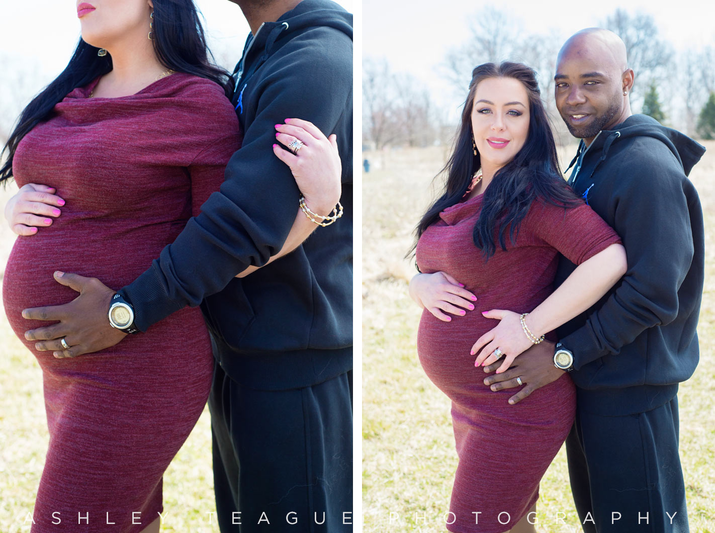 New Bremen Photography Maternity Portrait Kuenning Dicke Natural Area