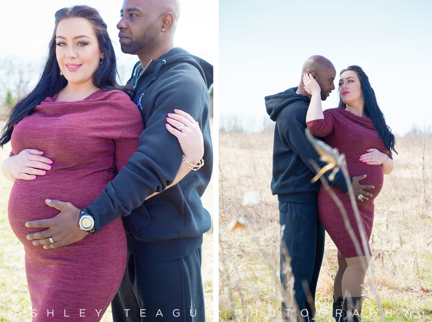 New Bremen Photography Maternity Portrait Nature Preserve