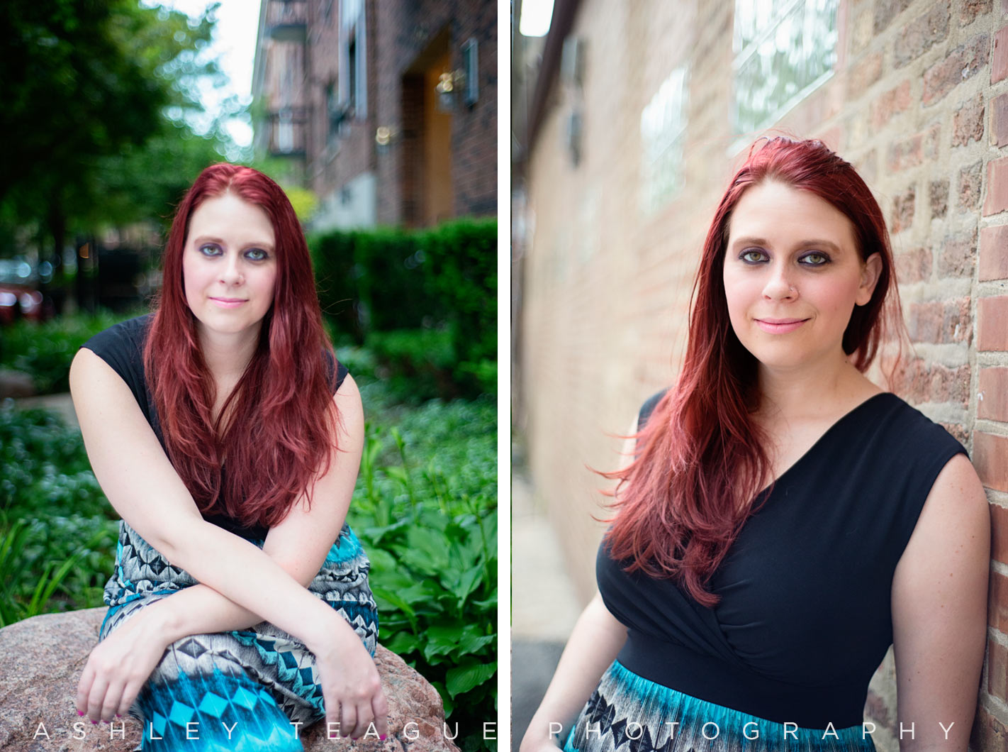 Comfortable Outdoor Chicago Headshot Photography