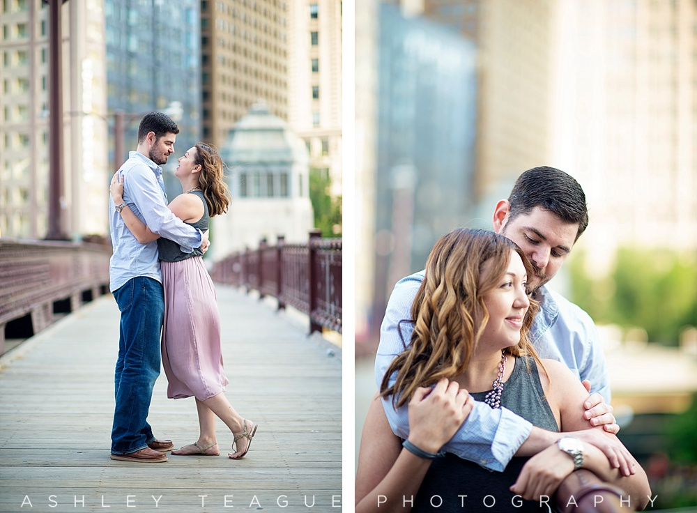 Joe gloria downtown chicago couples photography