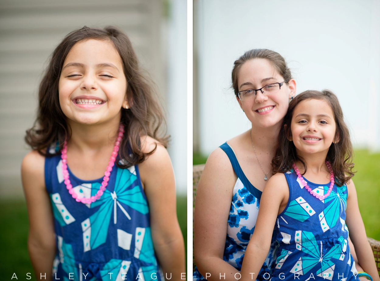 5 Year Old Girl and Her Mom