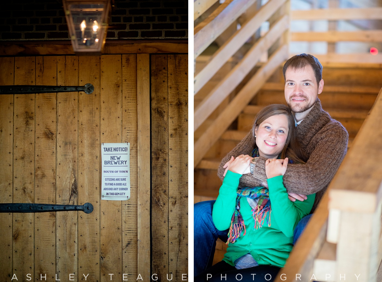 Carillon Park Brewery Engagement Pictures
