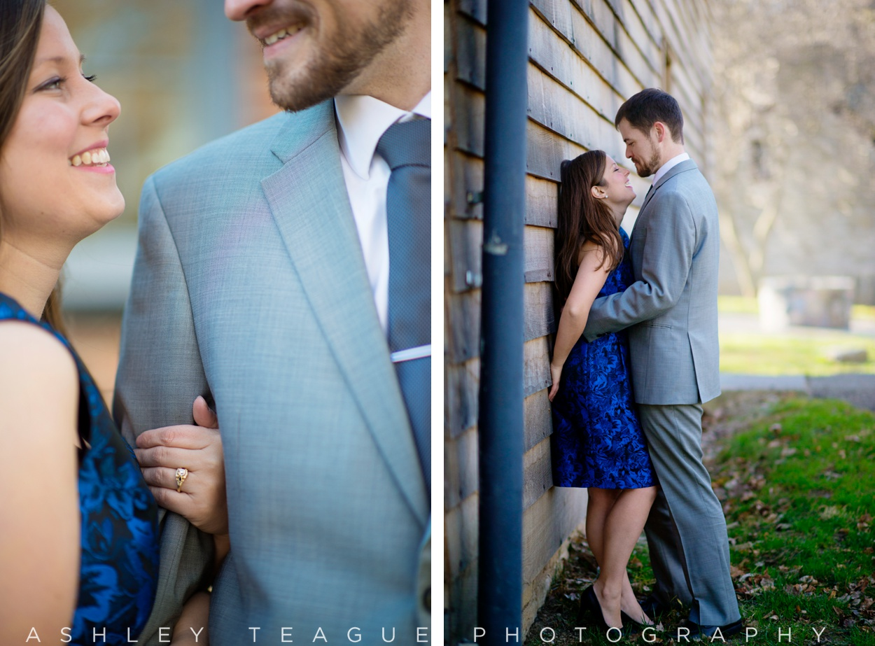 Dressy Engagment Pictures At Carillon Park Dayton Ohio