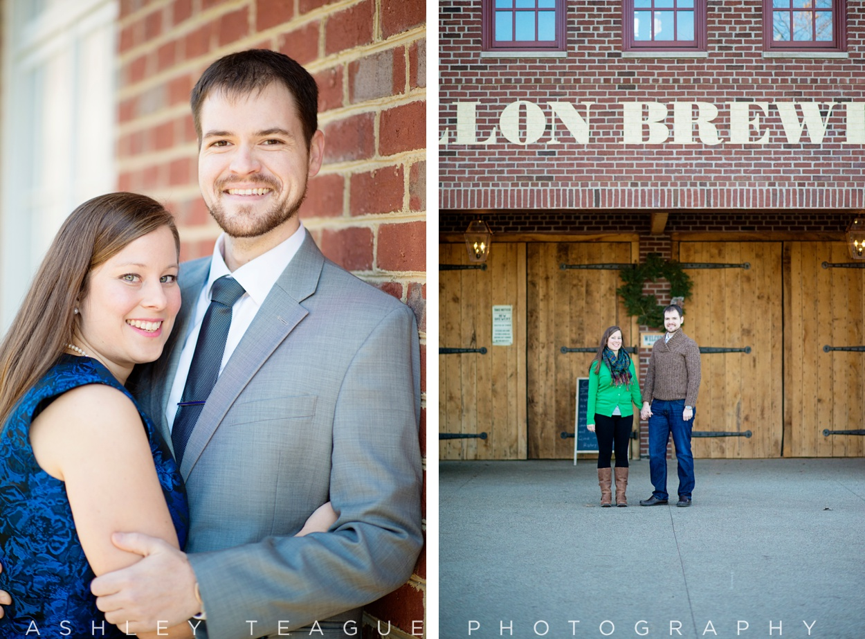 Engagement Photos At Carillon Brewing