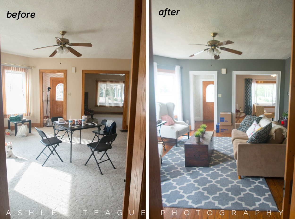 Living Room & Entrance Renovation
