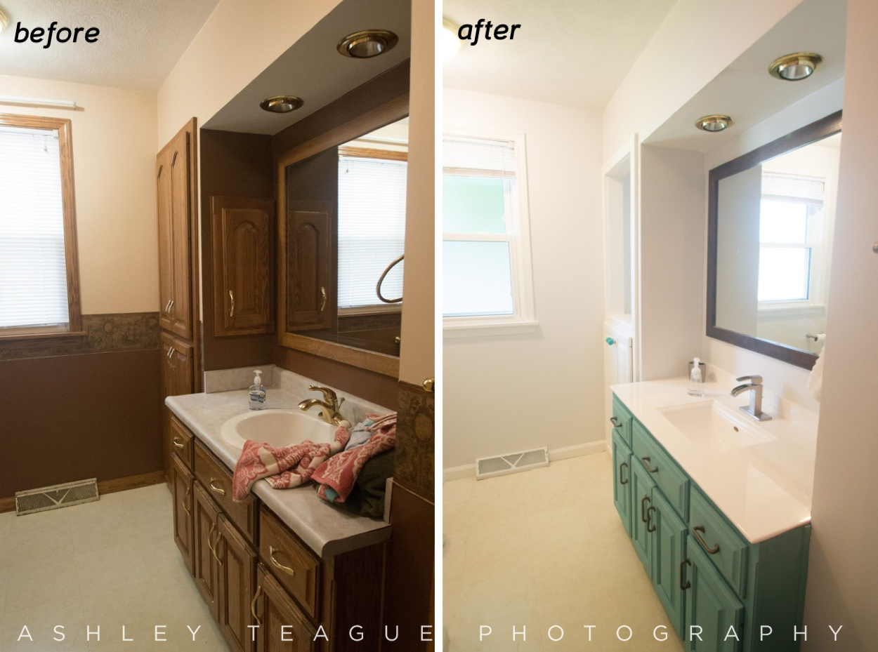 Drastic Bathroom Renovation