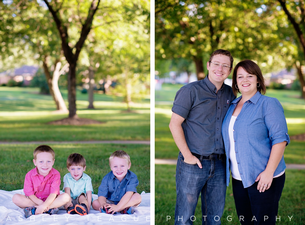 family of five in new bremen photography