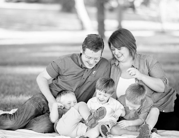 McGovern Family - Family Photography at Bremenfest Park, New Bremen Ohio